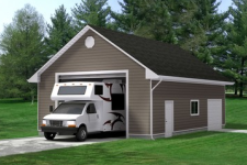 What Size Garage Door is Ideal for an RV or SUV?